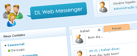 DL Web Messenger